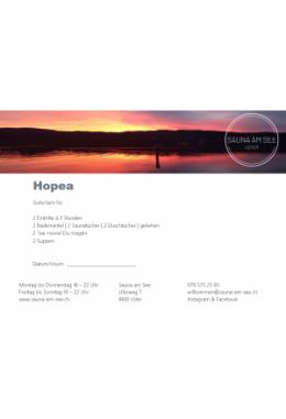Geschenkset HOPEA II
