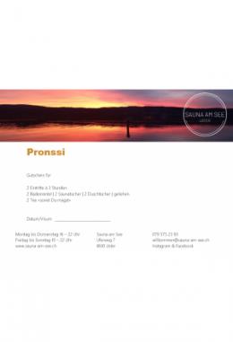Geschenkset PRONSSI II